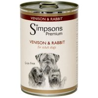 Nassfutter Simpsons Premium Venison & Rabbit