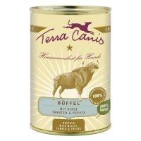 Nassfutter Terra Canis Büffel mit Hirse Tomaten & Papaya
