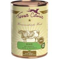 Nassfutter Terra Canis Rind mit Karotte, Apfel und Naturreis