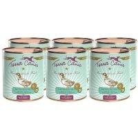 Nassfutter Terra Canis Ente mit Kürbis, Erdbeere und Holunder, getreidefrei