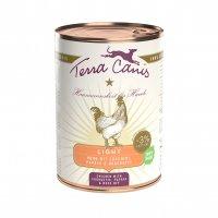 Nassfutter Terra Canis Huhn Light mit Zucchini, Papaya und Hagebutte