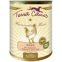 Nassfutter Terra Canis Huhn mit Amaranth, Tomaten und Basilikum