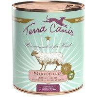 Nassfutter Terra Canis Lamm mit Kürbis, Pastinake und Passionsblume, getreidefrei