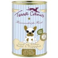 Nassfutter Terra Canis Lamm mit Zucchini, Fenchel und Magerjoghurt / Welpe