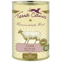 Nassfutter Terra Canis Lamm mit Zucchini, Hirse und Dill