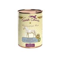 Nassfutter Terra Canis Pferd mit Amaranth, Pfirsich und roter Beete