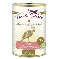 Nassfutter Terra Canis Pute Light mit Sellerie, Ananas und Sanddornbeeren