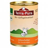 Nassfutter Terra-Pura Bio-Geflügelmahlzeit für Welpen