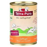 Nassfutter Terra-Pura Bio-Geflügeltopf