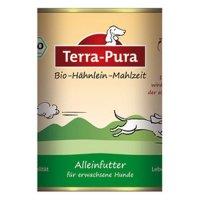 Nassfutter Terra-Pura Bio-Hähnlein-Mahlzeit