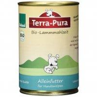 Nassfutter Terra-Pura Bio-Lammmahlzeit für Welpen