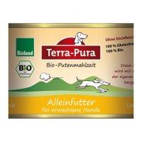Nassfutter Terra-Pura Bio-Putenmahlzeit