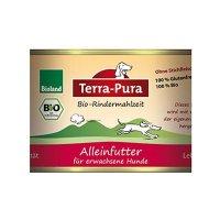 Nassfutter Terra-Pura Bio-Rindermahlzeit