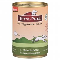 Nassfutter Terra-Pura Bio-Veggiemenü Senior