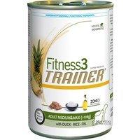 Nassfutter Trainer Fitness3 Adult Medium/Maxi Duck Rice Oel