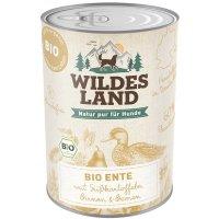 Nassfutter Wildes Land Bio Ente mit Süßkartoffeln