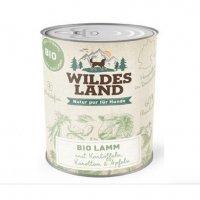 Nassfutter Wildes Land BIO Lamm mit Kartoffeln, Karotten & Apfel