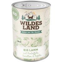 Nassfutter Wildes Land Bio Lamm mit Kartoffeln
