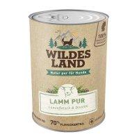 Nassfutter Wildes Land Lamm PUR mit Distelöl