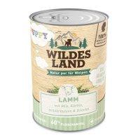 Nassfutter Wildes Land Puppy Lamm mit Reis, Kürbis und Wildkräutern