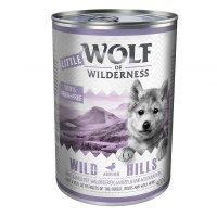 Nassfutter Wolf of Wilderness Wild Hills Junior