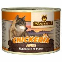 Nassfutter Wolfsblut Chickeria Adult Hühnerfilet & Möhre