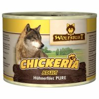 Nassfutter Wolfsblut Chickeria Adult Hühnerfilet Pure