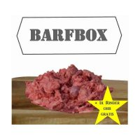 Rohfutter Frostfutter Nordloh Barfbox Premium Rindermix