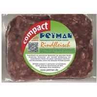 Rohfutter Petman Compact Frostfutter Rindfleisch natur
