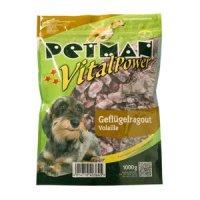 Rohfutter Petman Frostfutter Geflügelragout