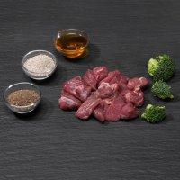 Rohfutter proCani Hypoallergen Wild Menü mit Brokoli