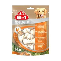 Snacks 8in1 Delights Kauknochen XS