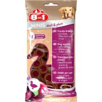 Snacks 8in1 Minis duck & plum