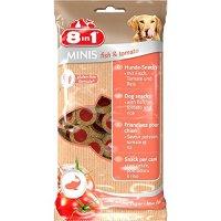 Snacks 8in1 Minis fish & tomato