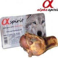 Snacks alpha spirit Schinkenknochen halb