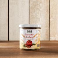 Snacks alsa nature Bratapfelkuchen im Glas