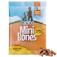 Snacks Barkoo Mini Bones Geflügel Dog Snack