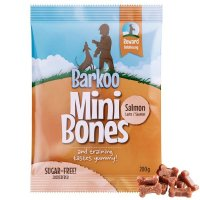 Snacks Barkoo Mini Bones Lachs Dog Snack