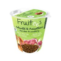 Snacks bosch Fruitees Rehwild & Preiselbeere