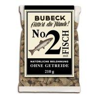 Snacks Bubeck Nr. 2 mit Fisch gebacken