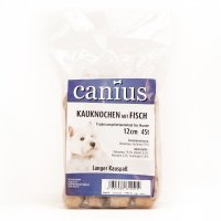 Snacks Canius Kauknochen mit Fisch 12cm Duo
