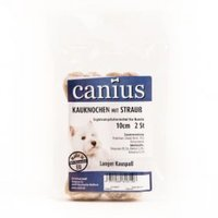 Snacks Canius Kauknochen mit Strauß 10 cm