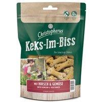 Snacks Christopherus Keks-Im-Biss mit Hirsch & Gemüse