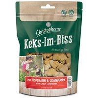 Snacks Christopherus Keks-Im-Biss mit Truthahn & Cranberry