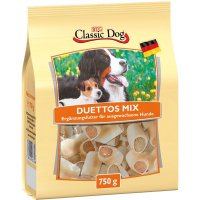 Snacks Classic Dog Duettos Mix