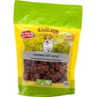Snacks Classic Dog meateez mit Lachs