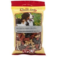 Snacks Classic Dog Miniknochen 5 Sorten Mix