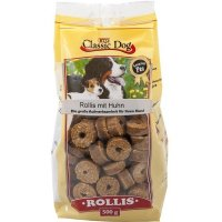 Snacks Classic Dog Rollis mit Huhn