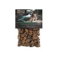 Snacks Dehner Wild Nature Hundesnack, Hirsch-Lungenwürfel, naturbelassen