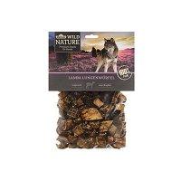 Snacks Dehner Wild Nature Hundesnack, Lamm-Lungenwürfel, naturbelassen